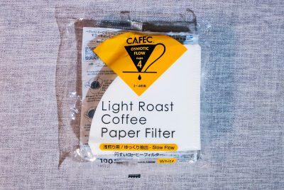 CAFEC T92 2-4人用 Light Roast 濾紙 (100張裝)