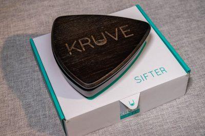 Kruve Sifter 5 Sieves (木、黑色)