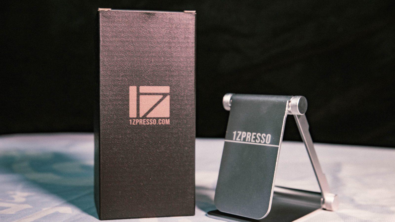 1Zpresso Y3手壓咖啡機鋁合金便攜摺疊架